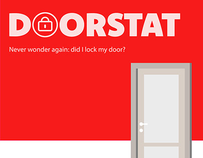 Doorstat Smart Lock - IOT Design