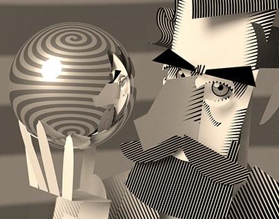 M. C. Escher, Dutch graphic artist