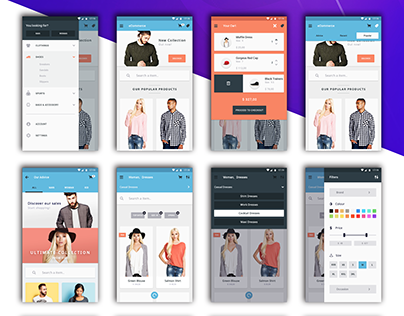 E-commerce Android Application - Web Coders Cafe