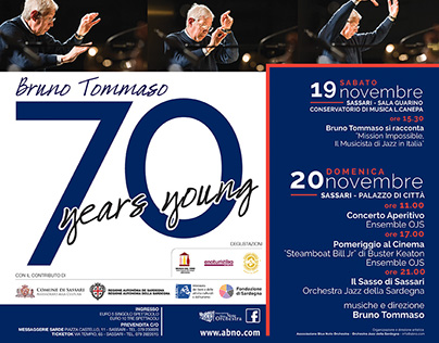 Bruno Tommaso - 70 Years Young