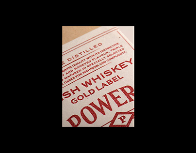 Powers Gold Label Whiskey Branding Proposal