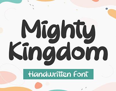 Mighty Kingdom - Handwritten Font