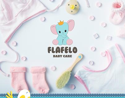 Flafelo Store logo Design