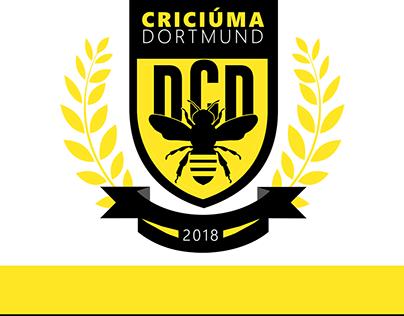 Desportivo Criciúma Dortmund - New Logo & jerseys