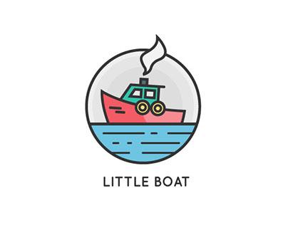 Little Boat Studios Logo Design