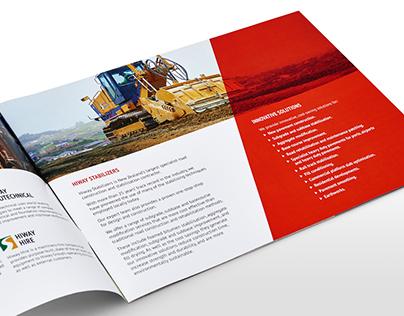 Hiway Group - Branding, logo, print and web design