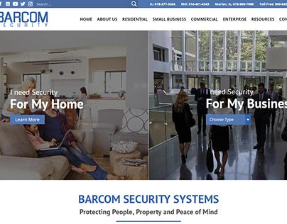 Barcom Security - Web Design, Branding, Web Development