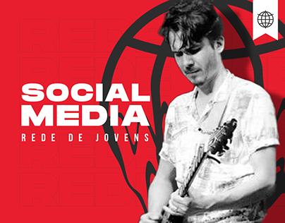 Rede de jovens Ceels - Social Media