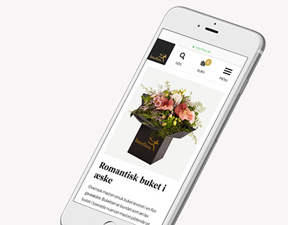 Interflora - website design