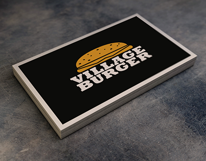 Village Burger, Corporate Design