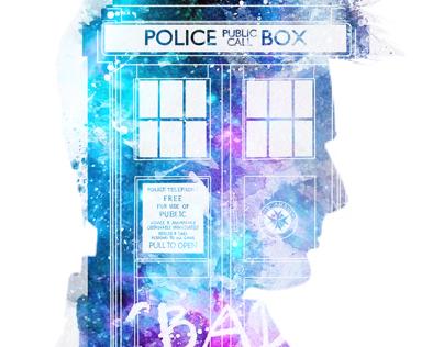 10th doctor purple TARDIS