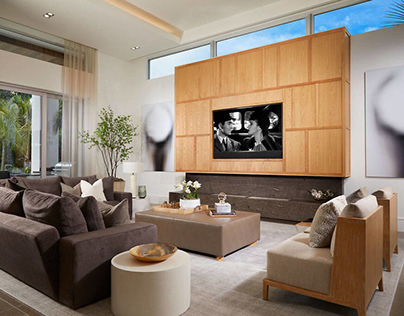 House in Naples by The Decorators Unlimited