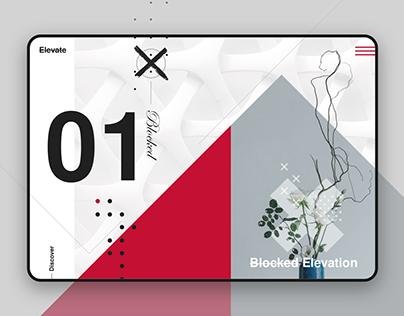 Elevate: Colour Block UI Design