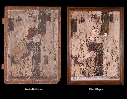 Icon restoration/conservation- my diploma-project