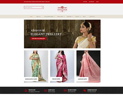 eCommerce Website Development for Aynaghor UK Limited