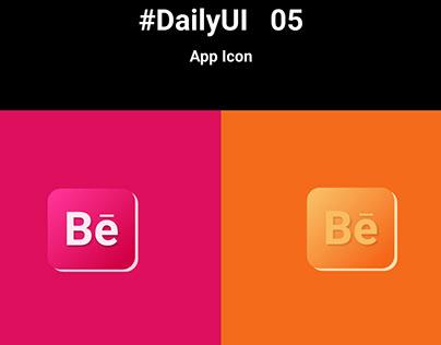 #DailyUI 05 App Icon