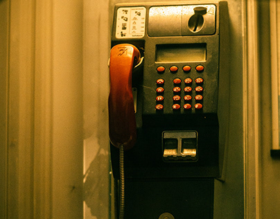 Street | Arnbach - Telefonzelle