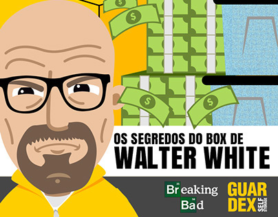 Infográfico Breaking Bad - Guardex