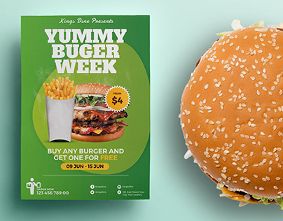 Food Promotion Flyer / Poster Template