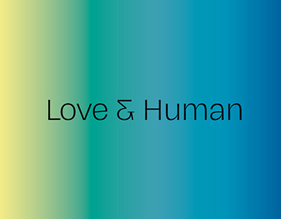 "Identity for creative community ""Love & Human""​​​​​​​"