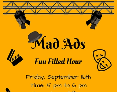 Mad-Ads : Fun Team Building Activity Poster