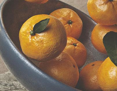 Flying tangerines