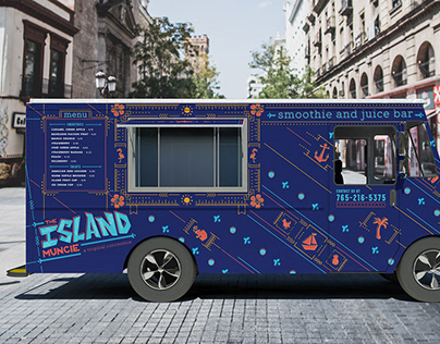 The Island Muncie | Food Truck Design