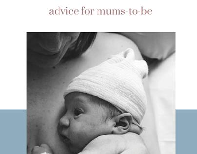 CHILDBIRTH. IMMERSIVE WEBSITE.