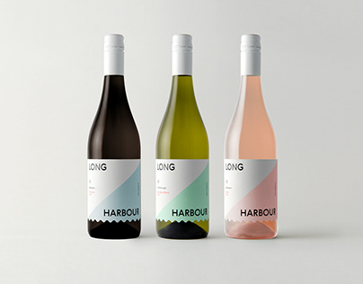 Long Harbour Wines | Packaging