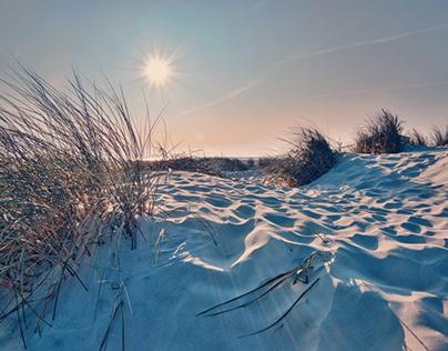 Between dunes and ocean