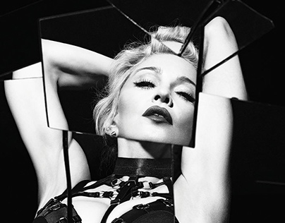 @Madonna appears in the latest issue of @OutMagazine