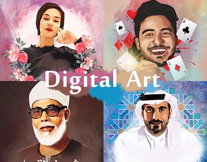 Digital & Vexel Art