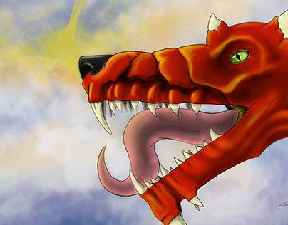 Wacom Dragon Test