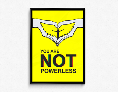 You are not powerless Poster