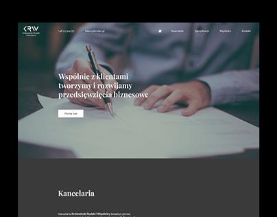 KRW Website