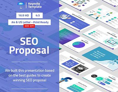 SEO Proposal Keynote Presentation Template