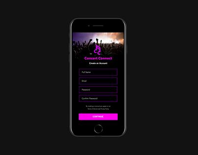 App Design | Concert Connect