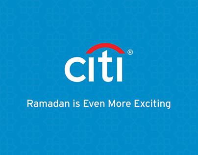 CITIBANK INDONESIA - Ramadan Digital Campaign