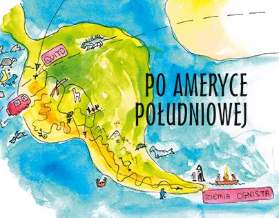 Rysunkowa podróż po Ameryce Południowej