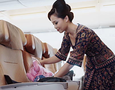 Singapore Airlines Charity Flight