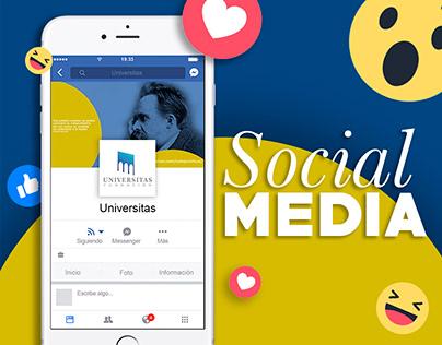"""Social Media para Instagram """"Universitas Fundación"""""""