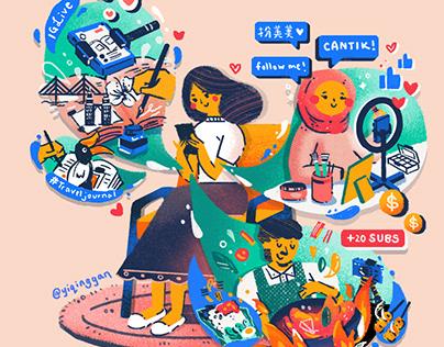 #DigitalLife in Malaysia (Ali Pay x Yi Qing)
