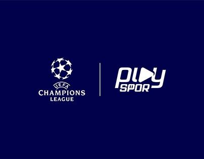 UEFA Champions League Yayın ve Sosyal Medya Grafikleri