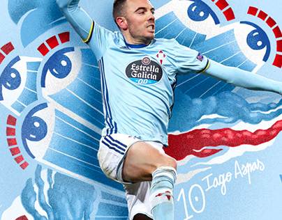 Rc Celta | Football illustrations