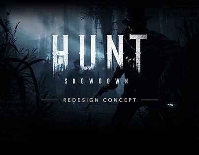 Hunt: Showdown - Game UI Redesign Concept