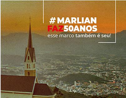 Marlian Contabilidade . Campanha de 50 anos