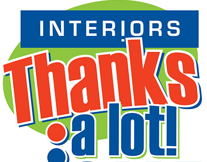 Interiors: Thanks A Lot Sale Logo