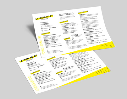 Resume - Free Indesign Template