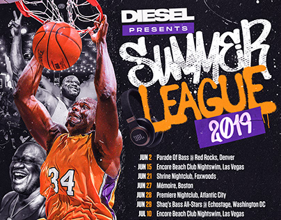 Summer League 2019 | Shaquille O'Neal x DJ Diesel