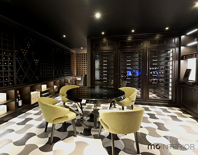 luxury winecellar